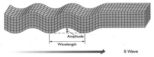S seismic waves depends on  S Wave